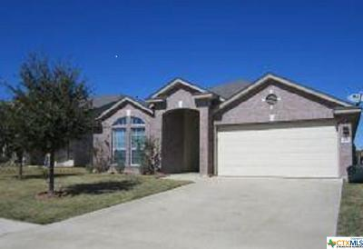 Killeen TX Single Family Home For Sale: $132,500