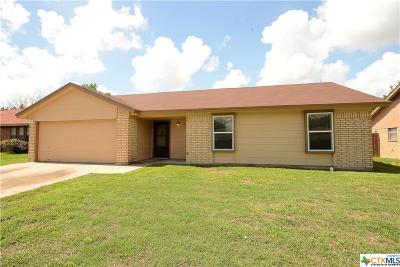 Killeen Single Family Home For Sale: 1803 Moonlight Drive