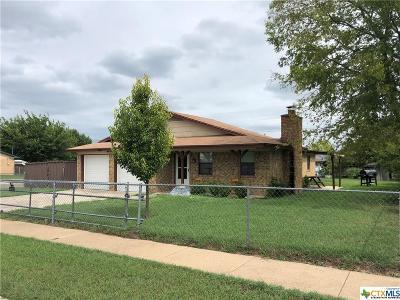 Killeen Single Family Home For Sale: 1814 Moonlight Drive