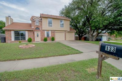 Copperas Cove Single Family Home For Sale: 133 Zarley Drive