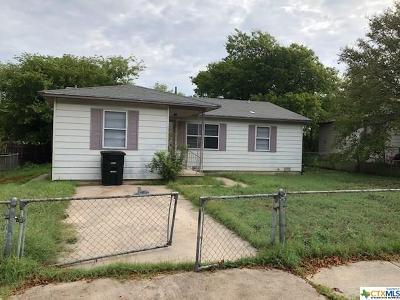 Killeen Single Family Home For Sale: 409 Short Ave Avenue