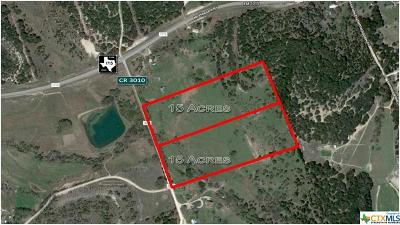 Lampasas Residential Lots & Land For Sale: Tbd Cr 3010 - 30 Acres