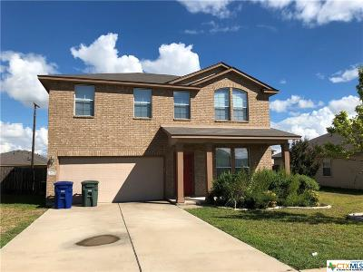 Copperas Cove TX Single Family Home For Sale: $154,900