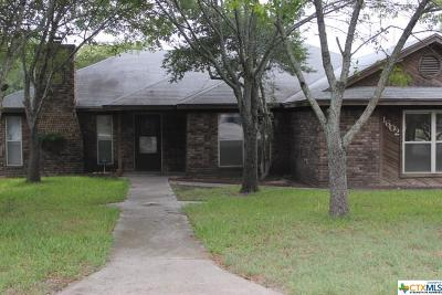 Copperas Cove Single Family Home For Sale: 1602 Freedom Lane