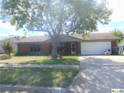 Killeen Single Family Home For Sale: 1610 Big Bend