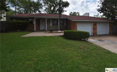 Killeen Single Family Home For Sale: 1812 Crestridge