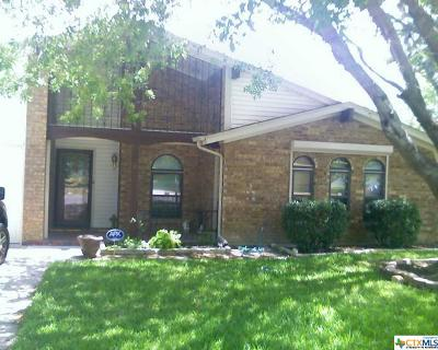 Killeen Single Family Home For Sale: 1906 Sherman