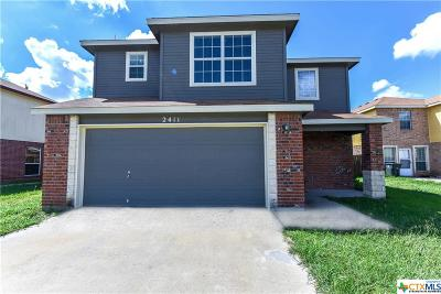 Killeen Single Family Home For Sale: 2411 Waterfall Drive