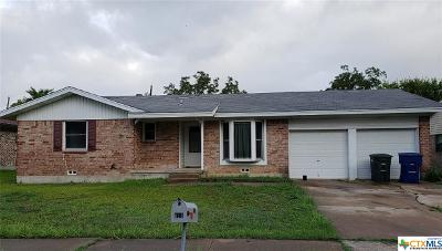 Copperas Cove Single Family Home For Sale: 518 Creek Street