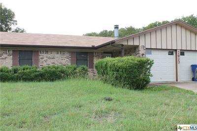 Copperas Cove Single Family Home For Sale: 2823 Veterans Avenue