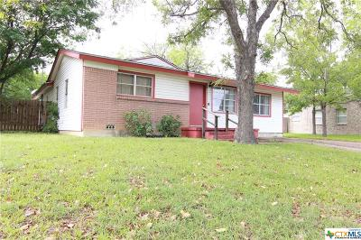 Copperas Cove Single Family Home For Sale: 108 Easy