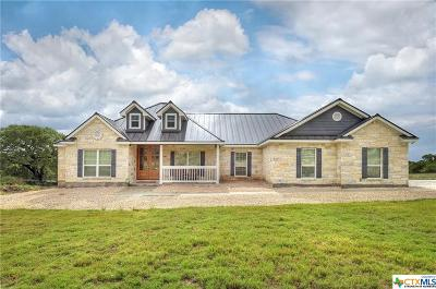 New Braunfels Single Family Home For Sale: 2208 Deer Run Ridge