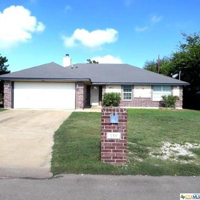 Belton Single Family Home For Sale: 159 Lake Forest