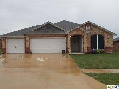 Killeen TX Single Family Home For Sale: $183,900