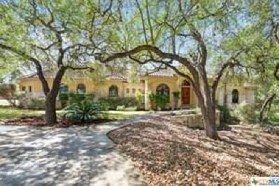 New Braunfels Single Family Home For Sale: 21 Horseshoe Court