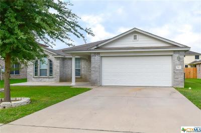 Killeen Single Family Home For Sale: 5102 Golden Gate Drive