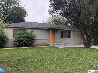 Copperas Cove Single Family Home For Sale: 617 Hill
