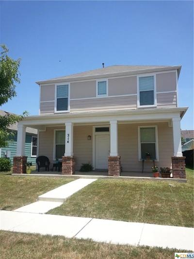 San Marcos TX Single Family Home For Sale: $180,500