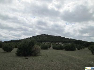 Bell County, Burnet County, Coryell County, Lampasas County, Llano County, McLennan County, Mills County, San Saba County, Williamson County Residential Lots & Land For Sale: Glass Road