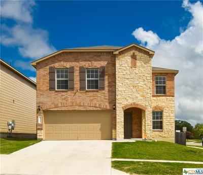 Killeen Single Family Home For Sale: 9312 Sandyford