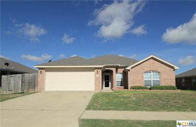 Killeen Single Family Home For Sale: 2603 Jasmine Lane
