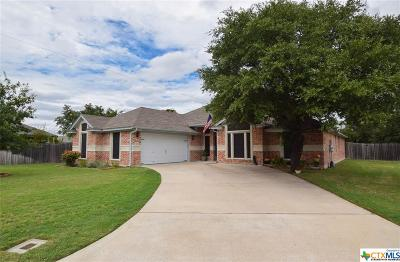 Harker Heights Single Family Home For Sale: 1401 Saxon