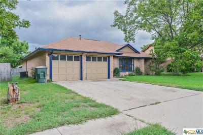 Killeen TX Single Family Home For Sale: $110,000
