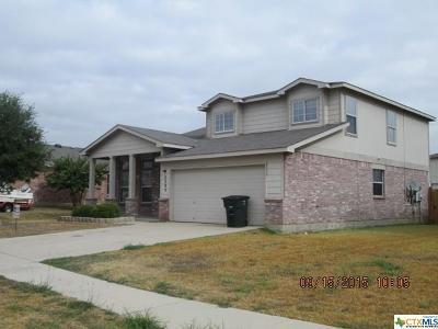 Harker Heights, Killeen, Temple Rental For Rent: 3303 Bull Run Drive