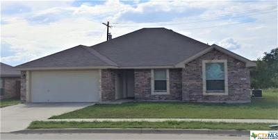 Copperas Cove TX Single Family Home For Sale: $145,000