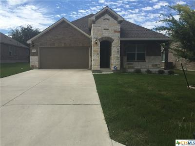 Harker Heights Single Family Home For Sale: 826 Olive Lane