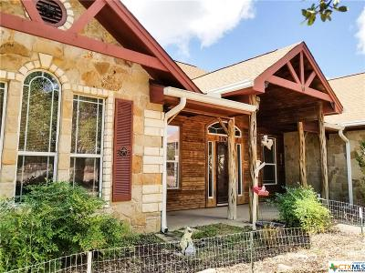 Burnet County Single Family Home For Sale: 1800 County Road 100