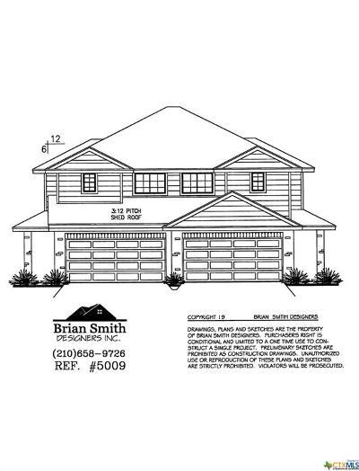 Buda TX Single Family Home For Sale: $372,900