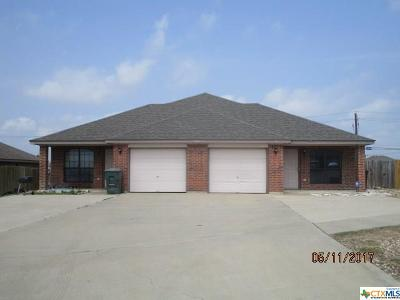 Harker Heights, Killeen, Temple Rental For Rent: 3505 Dustin Court #B
