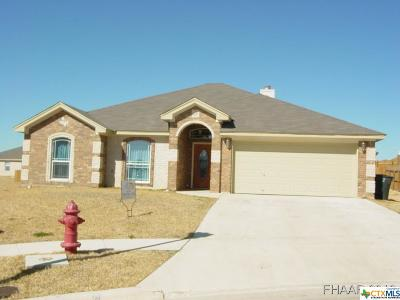 Harker Heights, Killeen, Temple Rental For Rent: 3809 Armstrong County Court