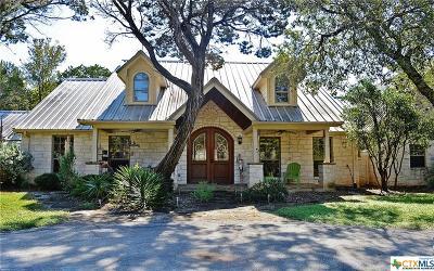 Burnet County Single Family Home For Sale: 801 Avenida Serena