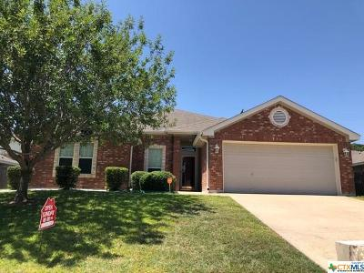 Copperas Cove Single Family Home For Sale: 1809 Indian Camp Trail