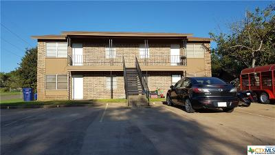 Copperas Cove Single Family Home For Sale: 601 Westview Circle #A-D