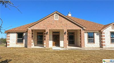 Copperas Cove Single Family Home For Sale: 1214 Lutheran Church Row