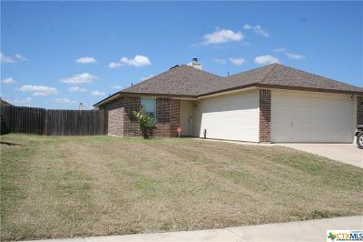 Killeen Single Family Home For Sale: 3901 Joshua Taylor