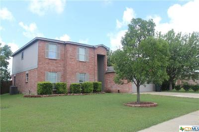 Killeen Single Family Home For Sale: 3908 Bull Run