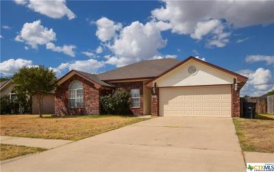 Killeen Single Family Home For Sale: 2305 Amethyst Drive