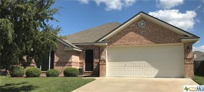 Harker Heights Single Family Home For Sale: 2005 Drawbridge Drive
