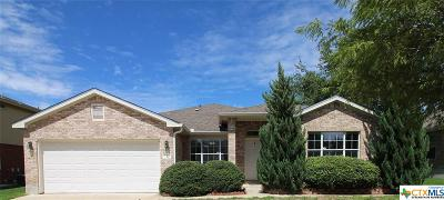 Harker Heights Single Family Home For Sale: 112 E Running Wolf Trail
