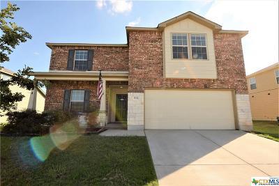 Killeen TX Single Family Home For Sale: $190,000