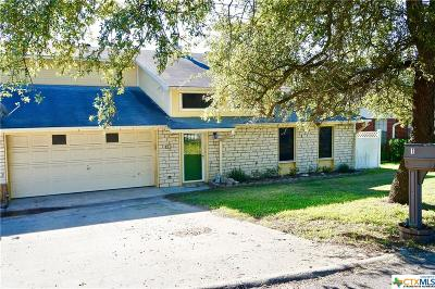 Belton TX Single Family Home For Sale: $209,900