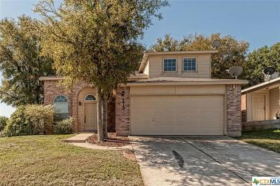 Killeen Single Family Home For Sale: 3010 Tangent Circle