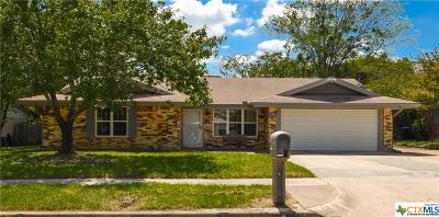 Killeen Single Family Home For Sale: 2910 Cypress