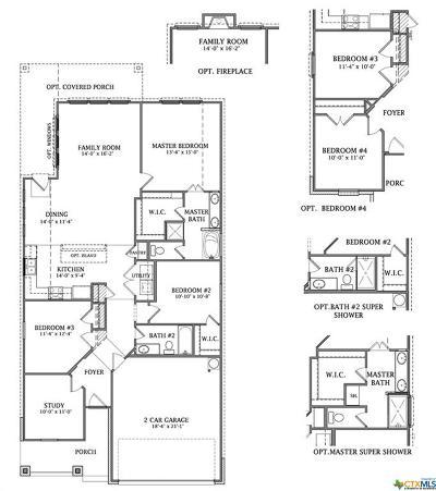 Schertz Single Family Home For Sale: 7136 McCulloch Glenn
