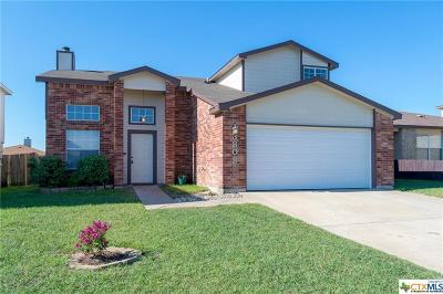 Killeen Single Family Home For Sale: 3808 Sunflower