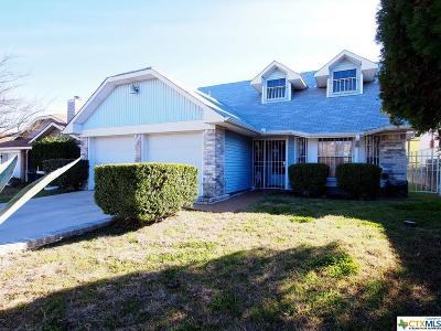 Killeen Single Family Home For Sale: 2112 Cascade